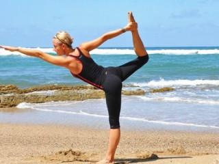 希望每个人都能享受瑜伽运动带来的快乐